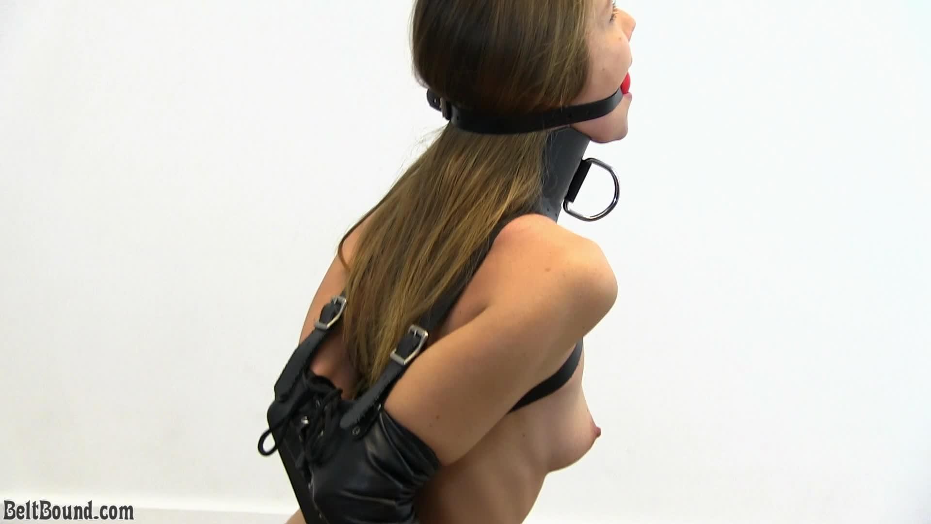 High bondage heels in Restraint High